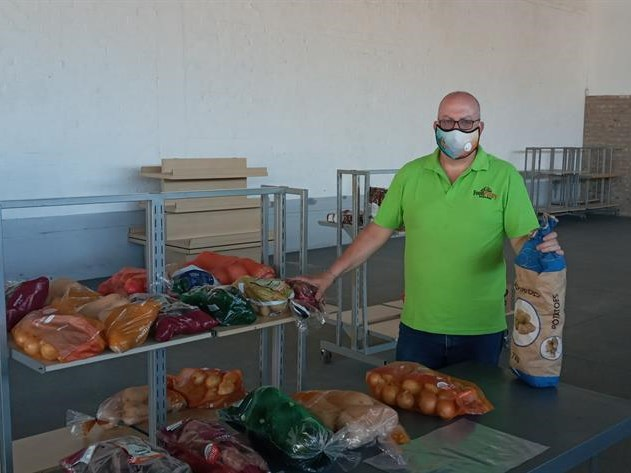 Garden Route Food Pantry on course