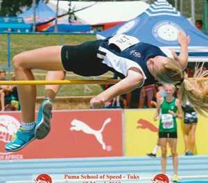 Carla soars to SA's top