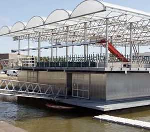 32 cows for world's first floating farm
