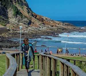 World-class surfing to be seen at Vic Bay