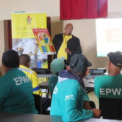 Former firefighter leads WOF team in Southern Cape