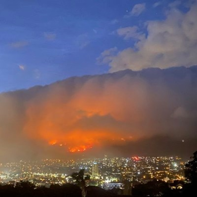 Firefighters continue to battle Cape Town fires