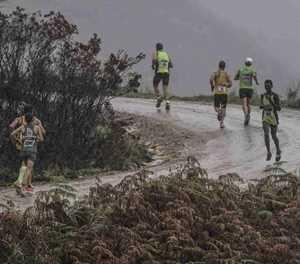 Reën bring lafenis in halfmarathon