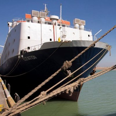 Concern as livestock vessels stuck in Suez Canal queue
