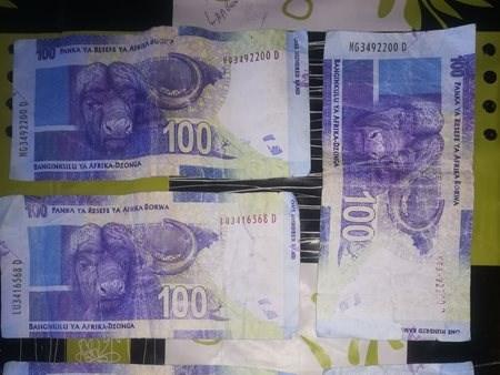 Be aware: Fake money