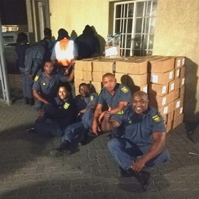 Guards nabbed with stolen cheese