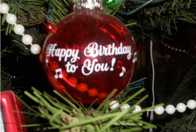 happy birthday on christmas day