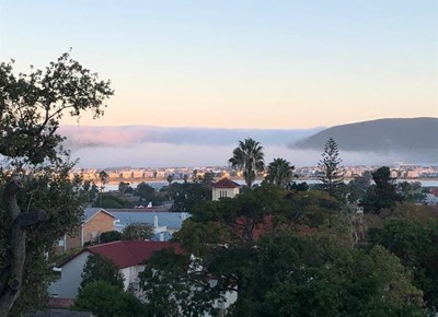 Mist adds mystery to the landscape