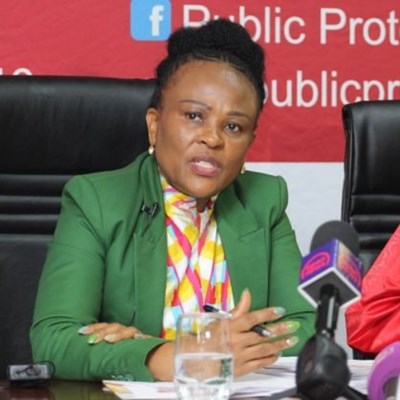 Busisiwe Mkhwebane denies Cyril Ramaphosa email leak is from her office