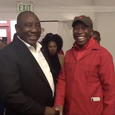 Cyril Ramaphosa agrees with Julius Malema on expropriation without compensation
