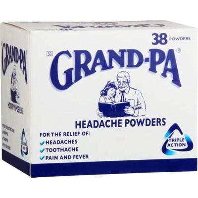 What a headache: Woman steals Grand-Pa from local shop