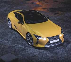 Lexus LC aangewys as koepee van die jaar