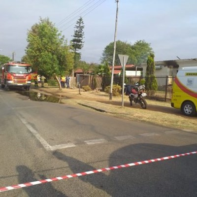 Child reported missing after house fire in Pretoria
