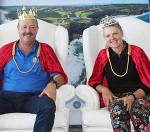 The Mullers are king and queen