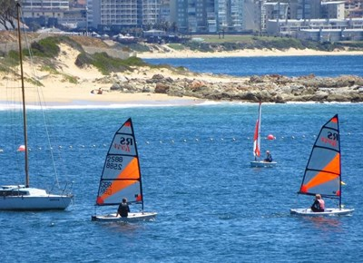 Western Cape champs and interclub sailing action