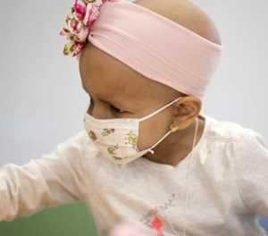 Kinderkanker in die kollig