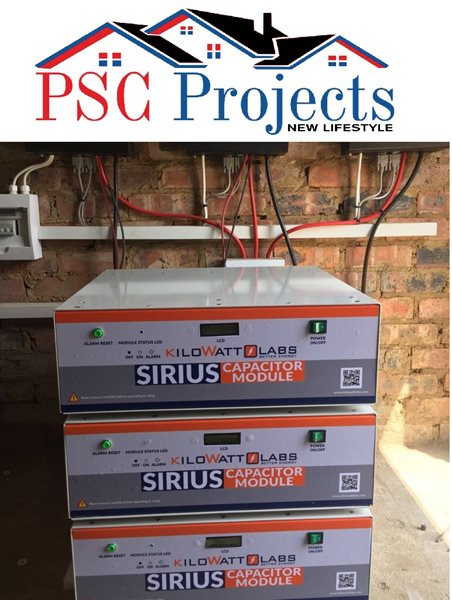 SIRIUS Super Capacitor ELIMINATES all Batteries! | George Herald
