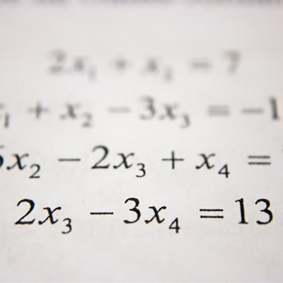 Declining maths performance is worrying