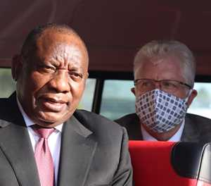 Ramaphosa visits the Western Cape