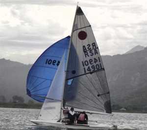 Tough sailing in fickle breeze