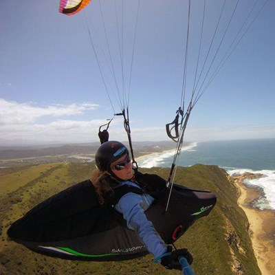 Pilot recovering well after paragliding crash