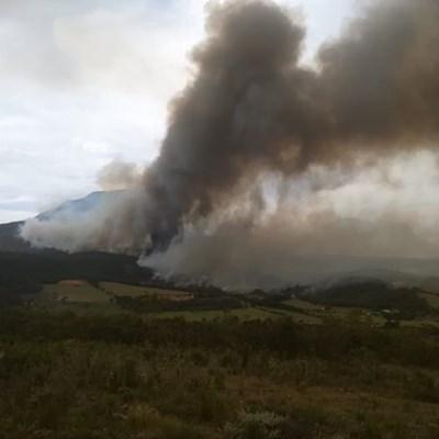 6 Major wildfires in Garden Route