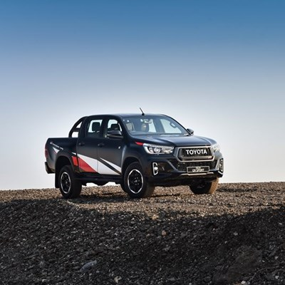 Toyota tops LCV charts in January