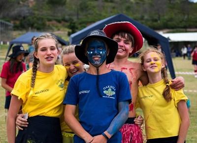 Oakhill College learners interhouse gala & athletics day