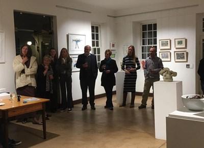 Opening of Walter Battiss art exhibition