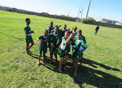 Sports day in Thembalethu