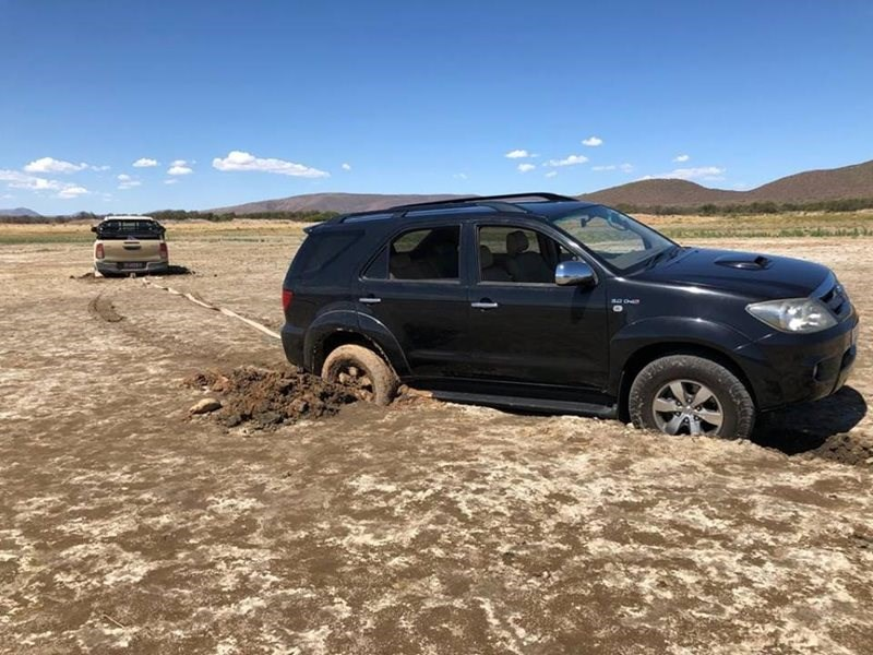 Don't get stuck in the mud