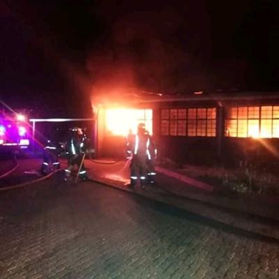 Khutlo-Tharo school in south of Johannesburg burns down