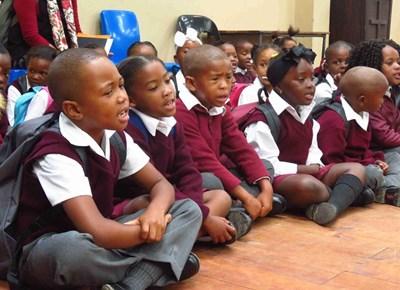 My first day of school: Smutsville Primary