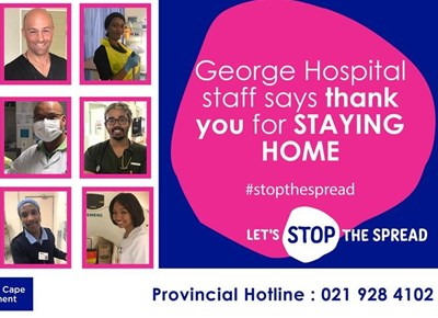 'We are at work for you. Stay at home for us' - healthcare workers