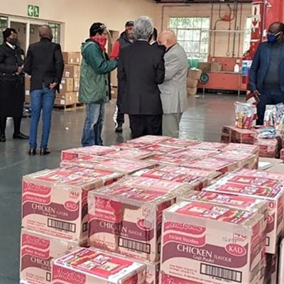 Homeless shelters in Garden Route receive food donations