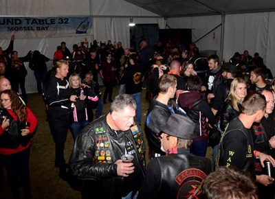 Vibrant, fun atmosphere in big tent at Whale Rally 2018