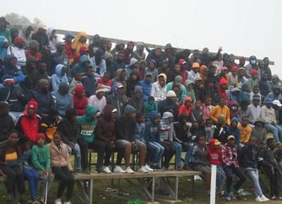 Lawaaikamp Stadium pumping with football match excitement