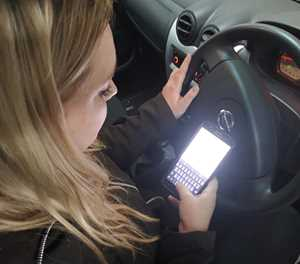 Never, ever, ever text and drive