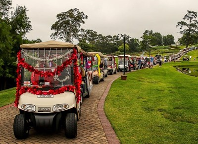 Fancourt Golf Cart Parade