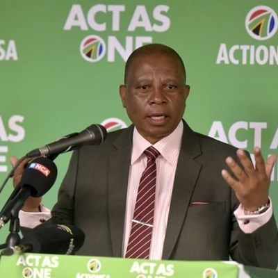 Mashaba says ActionSA won't be silenced by thugs following threats of violence