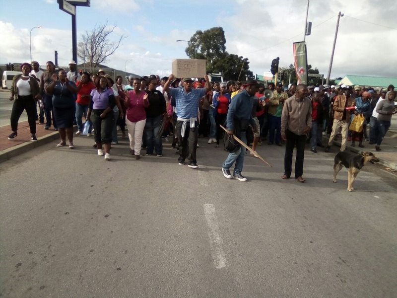 Thembalethu protest march update