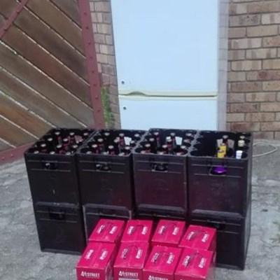 Drank en dwelms gekonfiskeer