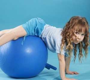 Kids and their core stability