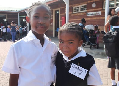 New Dawn Park Primary: My first day of school