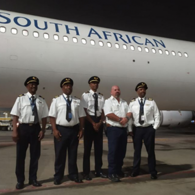 SAA flight fetching second batch of vaccines lands in Brussels