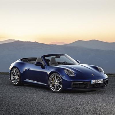 One, two, three... Porsche!