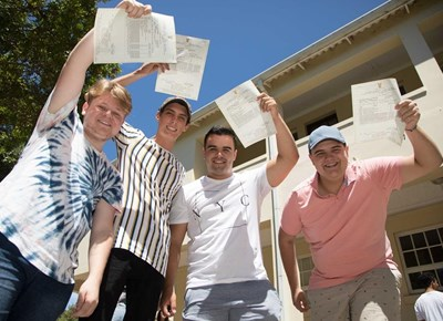 Top matric results for CX schools
