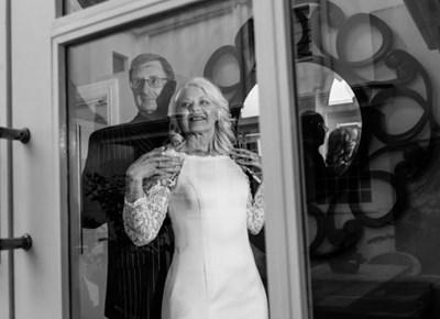 Graham and Charlene's wedding