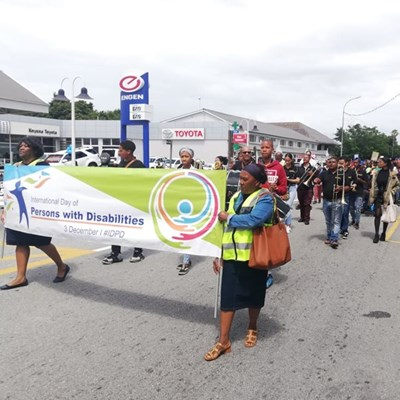 Knysna celebrates World Disability Day