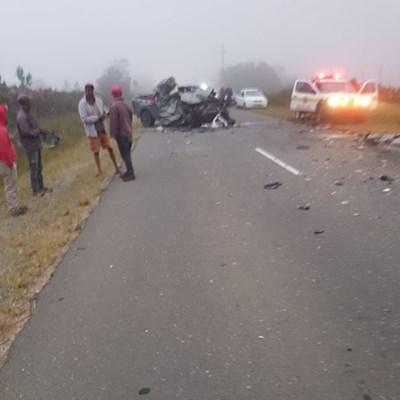Accident on Friemersheim road